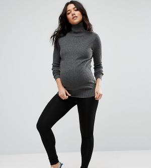 ASOS Maternity Леггинсы для беременных. Цвет: черный