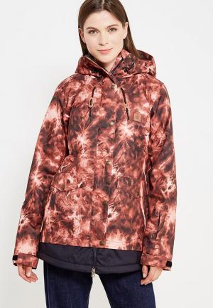 Куртка горнолыжная DC Shoes. Цвет: коричневый