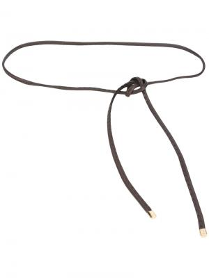 Узкий ремень Brioni. Цвет: коричневый
