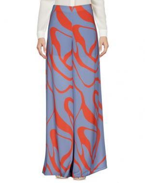 Повседневные брюки MALAICA. Цвет: небесно-голубой