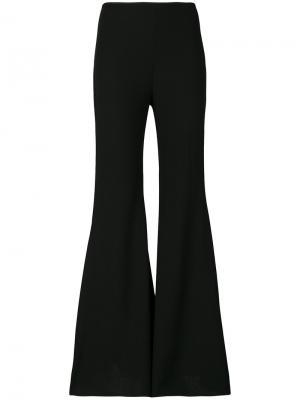 Расклешенные брюки Amen. Цвет: чёрный