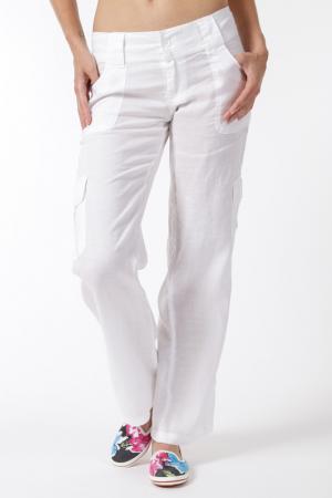 Брюки SMF. Цвет: white