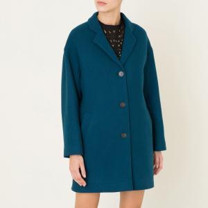 Пальто FLORENTINO ATHE VANESSA BRUNO. Цвет: сине-зеленый