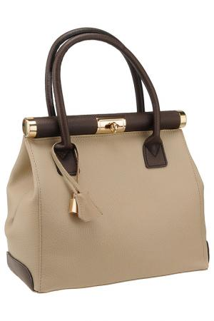 Сумка FLORENCE BAGS. Цвет: taupe, brown
