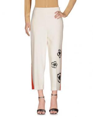 Повседневные брюки GUTTHA. Цвет: слоновая кость