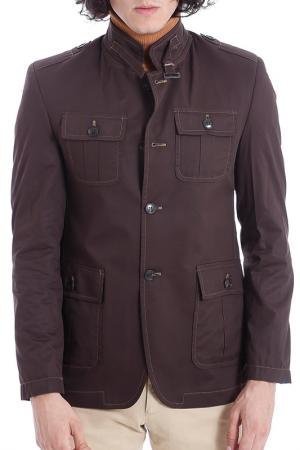 Куртка Wessi. Цвет: коричневый