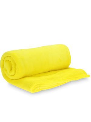Плед AMO LA VITA. Цвет: желтый