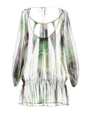 Блузка X'S MILANO. Цвет: зеленый