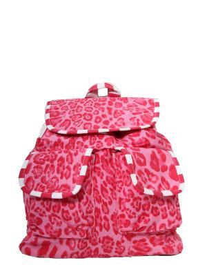 Рюкзак хлопок с декор. Отделкой ГАНГ. Цвет: розовый