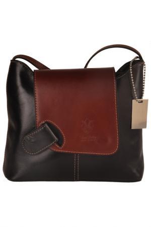 Сумка FLORENCE BAGS. Цвет: black and brown