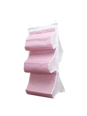Органайзер для сумок в шкаф Capri Homsu. Цвет: розовый