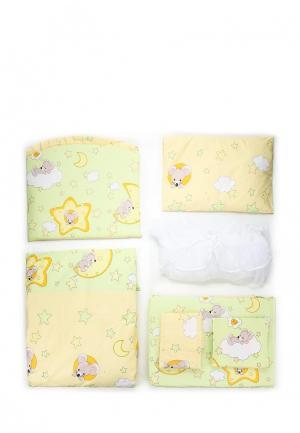 Постельное белье Сонный Гномик. Цвет: разноцветный