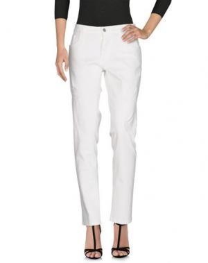 Джинсовые брюки SQUAD². Цвет: белый