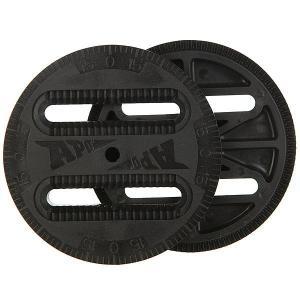 Крепления для сноуборда  Expresso Comptatible Disc Black Apo. Цвет: черный