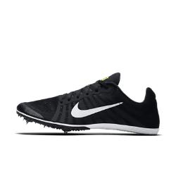 Шиповки унисекс для бега на средние дистанции  Zoom D Nike. Цвет: черный