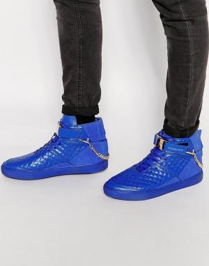 Cayler & Sons Высокие кроссовки Hamachi. Цвет: синий