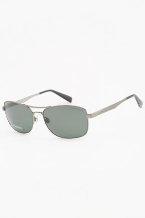 Очки солнцезащитные Trussardi. Цвет: зеленый