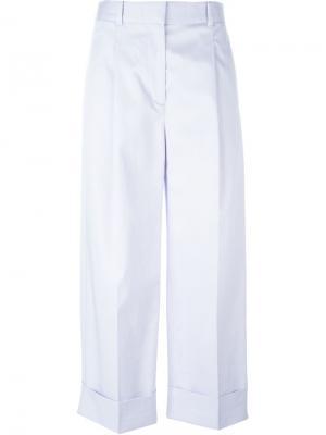 Широкие брюки 3.1 Phillip Lim. Цвет: розовый и фиолетовый