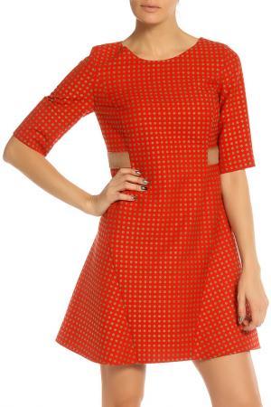 Платье BGN. Цвет: оранжевый