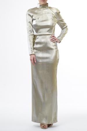 Вечернее платье Talbot & Runhof. Цвет: серебряный
