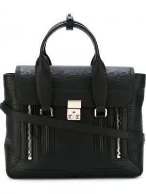 Средняя сумка-сэтчел Pashli 3.1 Phillip Lim. Цвет: чёрный