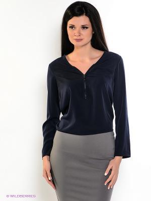 Блузка adL. Цвет: темно-синий