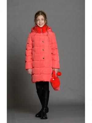 Пальто Stillini. Цвет: коралловый