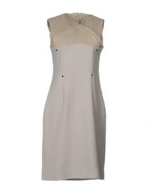 Короткое платье MARIOS SCHWAB. Цвет: серый