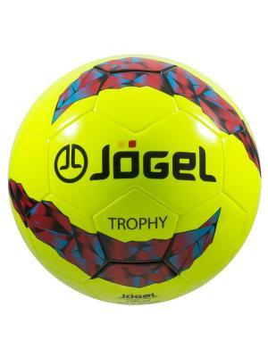 Мяч футбольный Jоgel JS-900 Trophy №5 Jogel. Цвет: оливковый