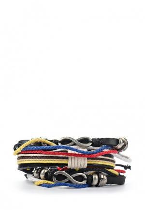 Комплект браслетов 3 шт. Joubeejou. Цвет: разноцветный