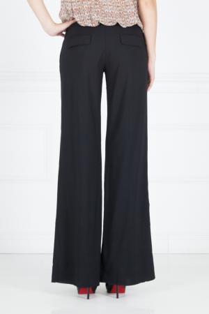 Однотонные брюки Kaufmanfranco. Цвет: черный