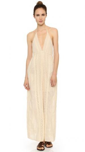 Макси-платье Juniper St. Roche. Цвет: золотой