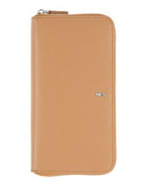 Бумажник NAVA. Цвет: верблюжий