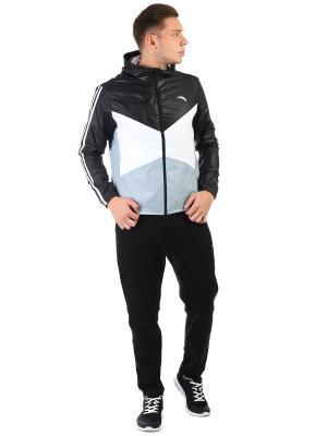 Куртка, ANTA. Цвет: черный