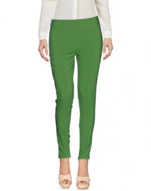 Повседневные брюки FLY GIRL. Цвет: зеленый