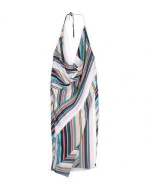 Платье длиной 3/4 MARIAGRAZIA PANIZZI. Цвет: зеленый-милитари