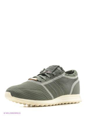 Кроссовки LOS ANGELES Adidas. Цвет: темно-зеленый