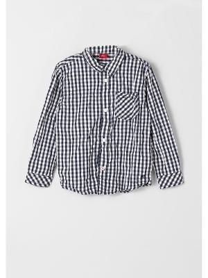 Рубашка S.OLIVER. Цвет: темно-синий