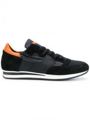 Кроссовки Tropez Philippe Model. Цвет: чёрный