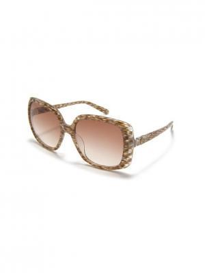 Очки солнцезащитные MM 617S 04 Missoni. Цвет: коричневый