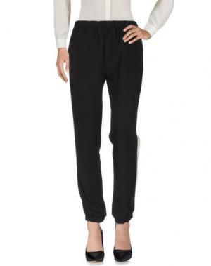 Повседневные брюки SATÌNE. Цвет: черный