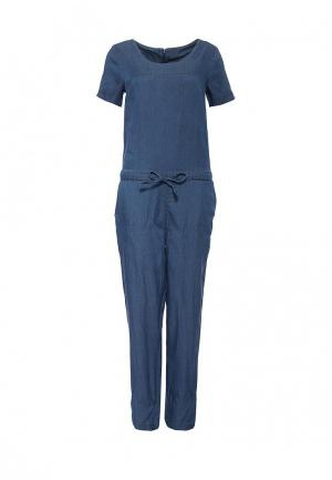 Комбинезон джинсовый Vila. Цвет: синий
