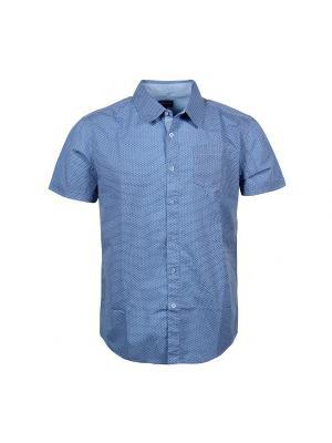 Рубашка Fresh. Цвет: голубой, темно-синий