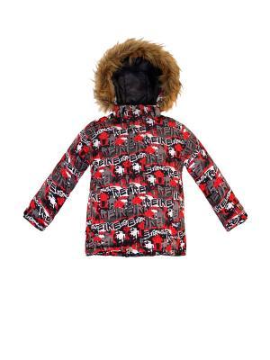 Куртка REIKE. Цвет: красный