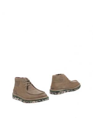Полусапоги и высокие ботинки LAGOA. Цвет: песочный