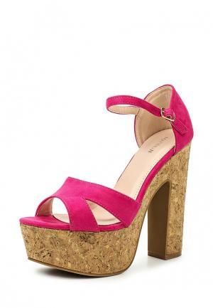 Босоножки Marquiiz. Цвет: розовый