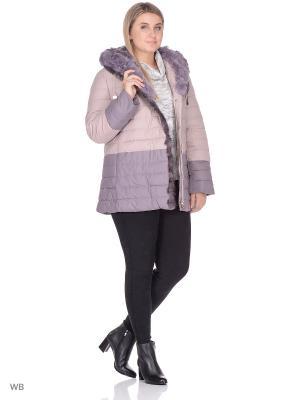 Куртка SML. Цвет: розовый