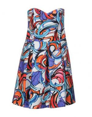 Короткое платье HANITA. Цвет: оранжевый