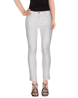 Джинсовые брюки HOPE COLLECTION. Цвет: белый