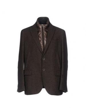 Пиджак FABIO MODIGLIANI. Цвет: темно-коричневый